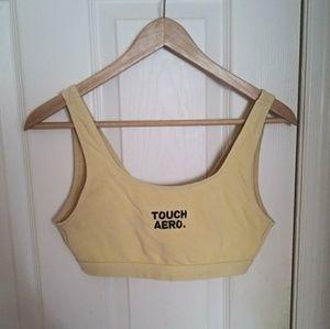 Vintage 90s yellow bra